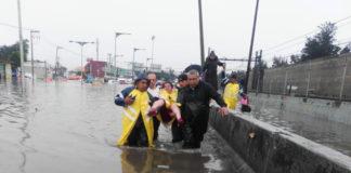 inundaciones en la Línea A