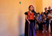Frida Kahlo y Diego Rivera te llevan a una visita guiada en San Ildefonso