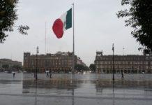 Lluvia torrencial en la CDMX