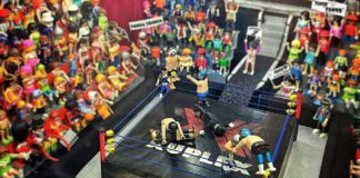 lucha libre en el mujam