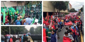 marcha de campesinos