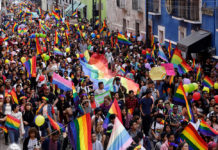 ruta de la marcha del orgullo lgbttti