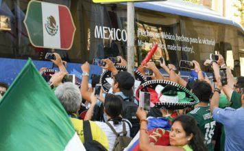 Somos locales otra vez: así los festejos de los mexicanos en Rusia