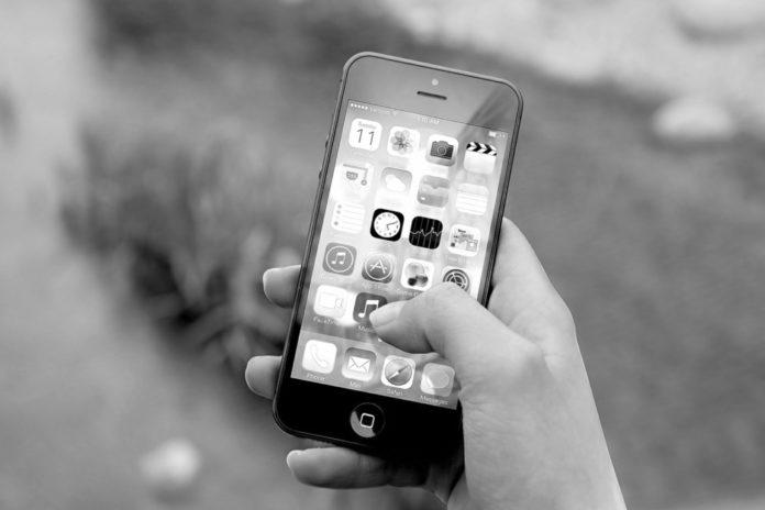 pantalla del celular