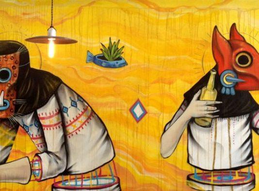 Restaurantes con murales en la CDMX