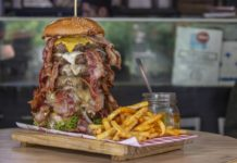 hamburguesas gigantes