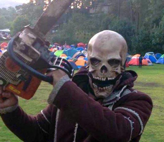 Campamento de horror en Xochimilco