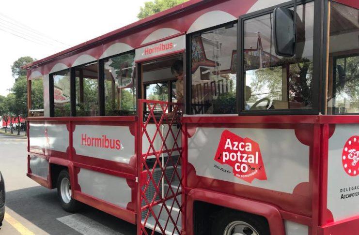tranvía en Azcapotzalco