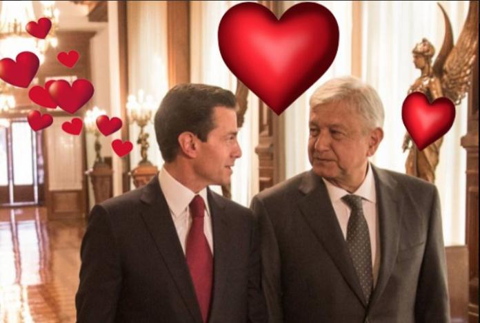 Los memes de Peña Nieto y AMLO