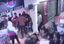 asalto en una cafetería de la Benito Juárez