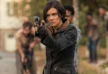 embarazo de maggie en the walking dead