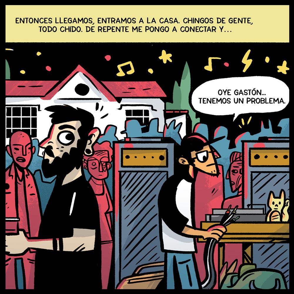 cómic de hip hop mexicano