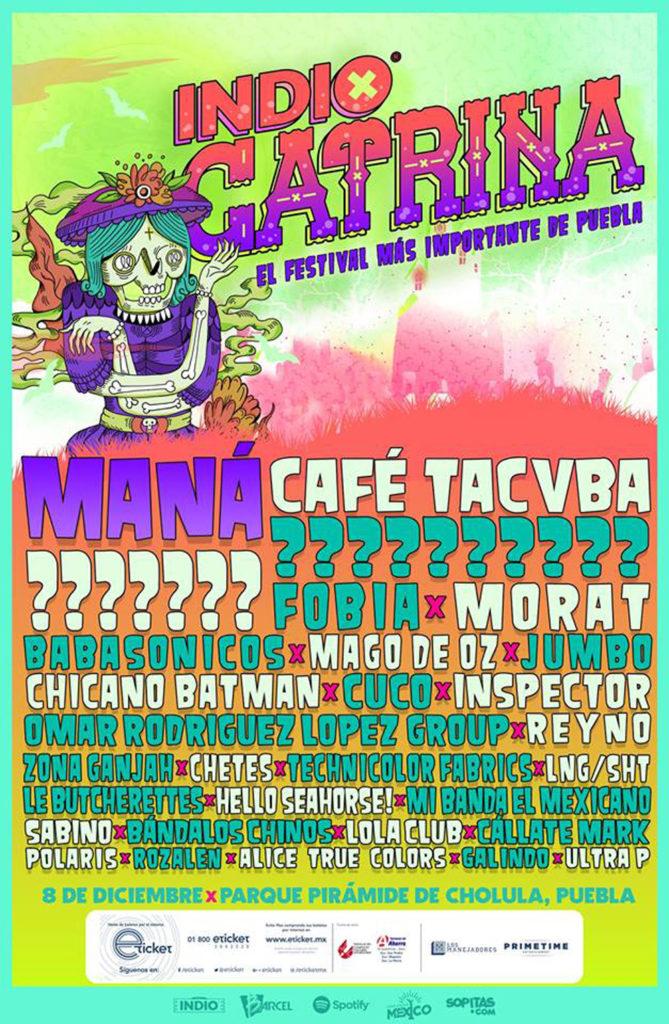 cartel del Festival Catrina 2018