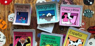stickers de libros de texto