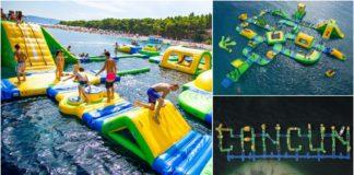 parque acuático en Cancún float fun