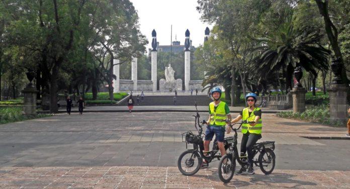 tour en bicicleta por CDMX