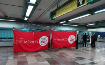 prueba gratuita de VIH en Metro Atlalilco