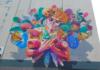 Mural en 3D