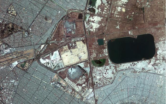 Estación Espacial Internacional sobre la CDMX