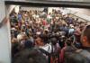 Caos en la línea 1 del metro