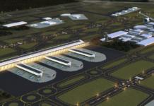 imágenes del aeropuerto de Santa Lucía