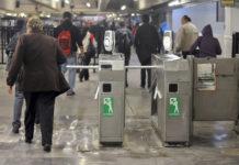 modernización de los torniquetes del Metro