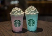 nuevos frappuccinos de Starbucks