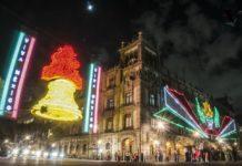 Así será el alumbrado de fiestas patrias en el Zócalo