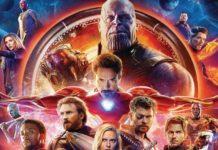 Blu-ray de infinity war