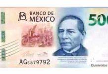 diseño del nuevo billete de 500 pesos