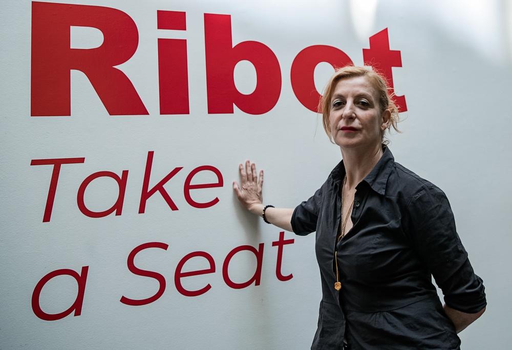 Entrevista a La Ribot Take a Seat