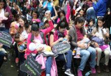 Lánzate a la Fiesta mexicana de la lactancia en Chapultepec