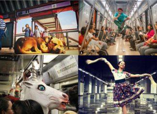 Los pasajeros son los protagonistas del Instagram Metro Chilango