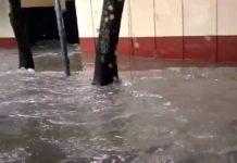 Lluvia deja inundaciones en la Ciudad de México, especialmente al sur