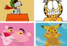 mascotas de caricaturas