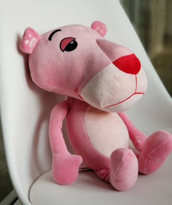 Pantera Rosa en Miniso