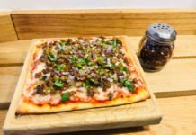 pizza de tripa
