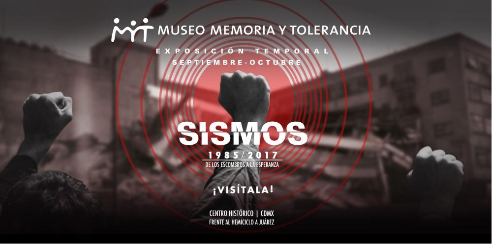 Sismos 1985-2017 póster