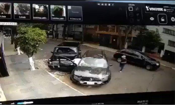 #Video: graban intento de secuestro; PGJ ya investiga