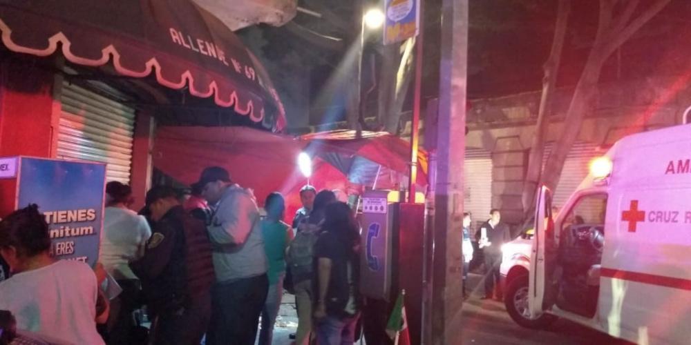 Balacera en Garibaldi: 4 heridos y tres muertos