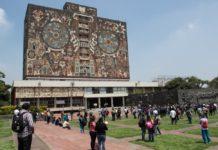 Suspensión de clases en la UNAM