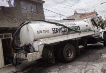 Corte de agua en Azcapotzalco