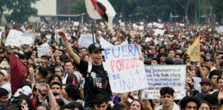 detenidos por disturbios en la UNAM