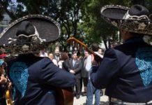 flashmob con mariachis en la Zona Rosa