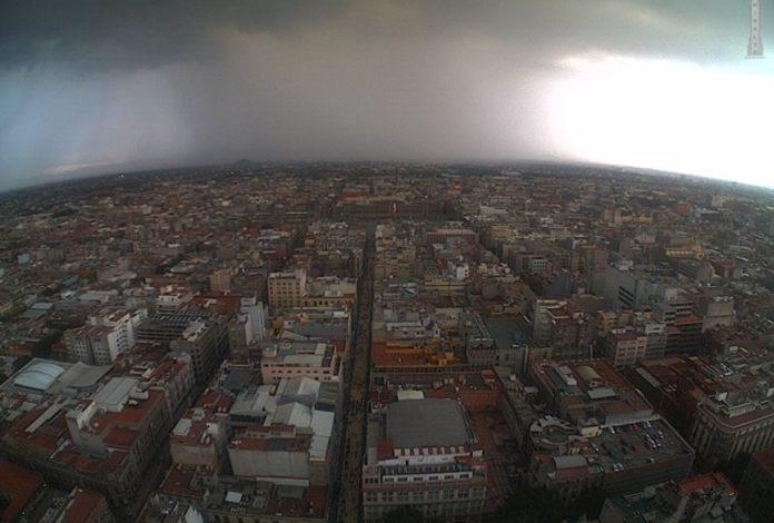 tormentas en la CDMX