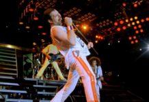 proyección de Queen Live in Budapest