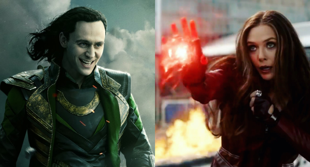 series de Loki y Scarlet Witch