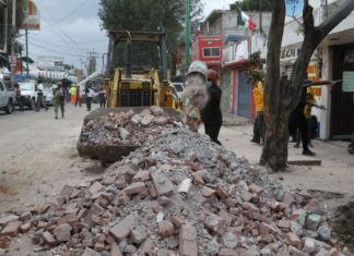 sismo en Xochimilco