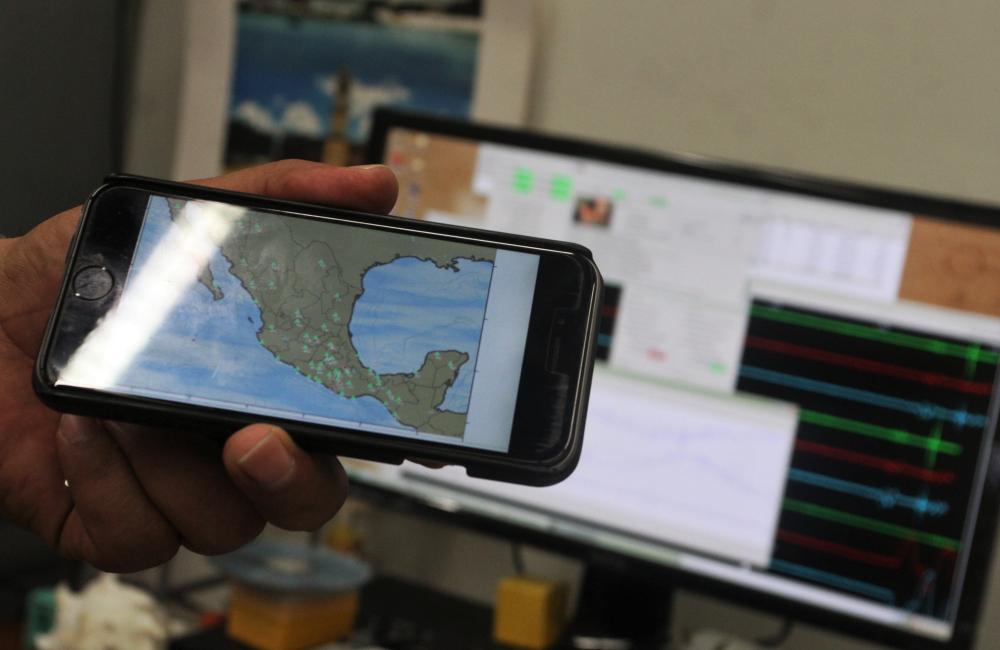 chilango - ¿Cómo se escuchó la tierra en el sismo del 19S? La UNAM te cuenta