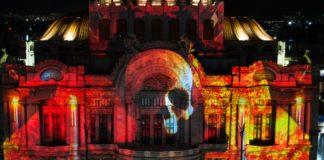 Video mapping en monumentos históricos de la CDMX